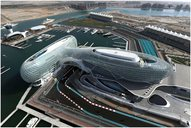 Formel 1 race track and hotel in AbuDhabi /UAE Room and Building acoustics