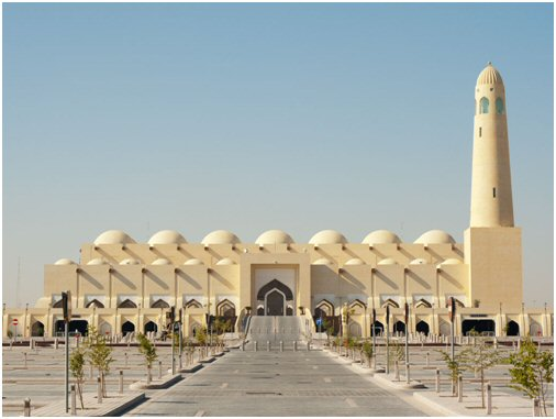 Architectural Model of the State Mosque in Doha / Qatar