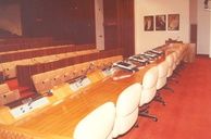 Institute of Public Administration Riyadh, view to the front table